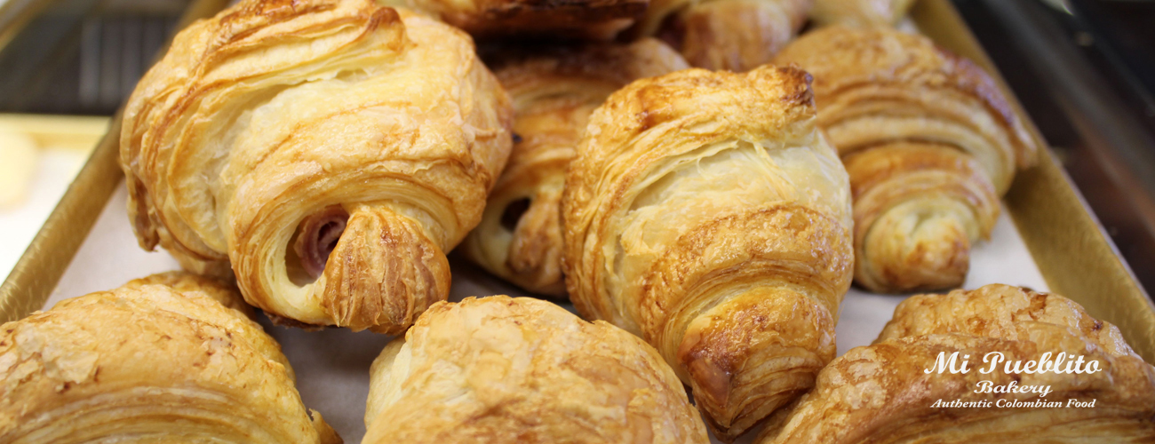 croissants,Mi Pueblito Bakery,Authentic Colombian Food